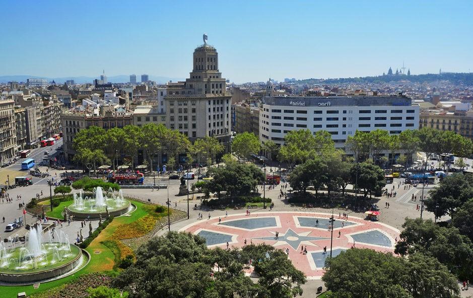 Le piazze di Barcellona