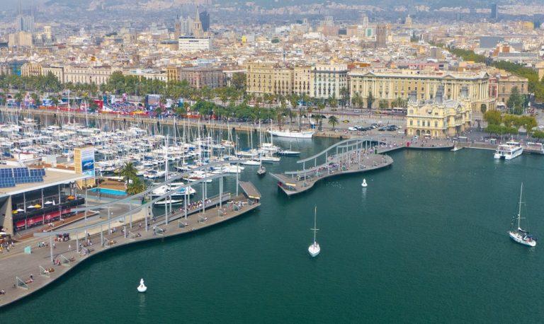 Il porto di Barcellona