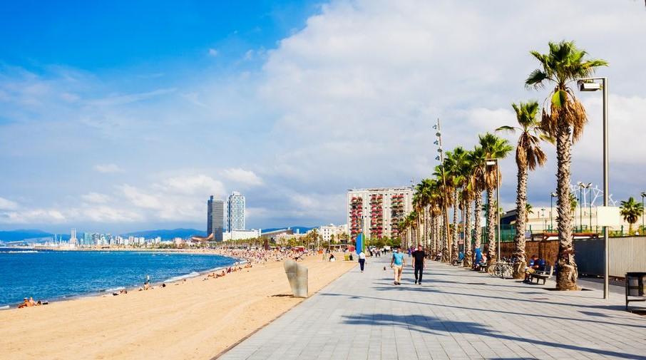 Le spiagge di Barcellona
